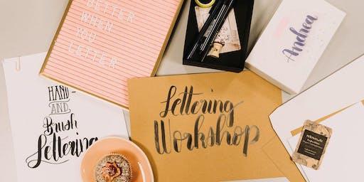 Handlettering und Brushlettering Workshop für Anfänger