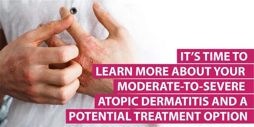 Moderate-To-Severe Atopic Dermatitis Patient Education Program (Free)