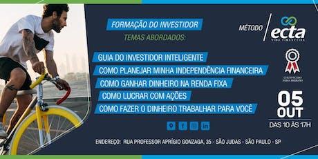 Ecta - Formação do Investidor ingressos