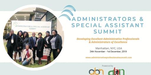 Administrators & Special Assistant Summit - 2019