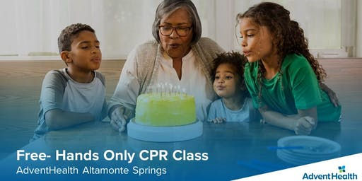 Free Hands Only CPR Class