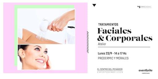 Tratamientos Faciales y Corporales con Prodermic & Morales