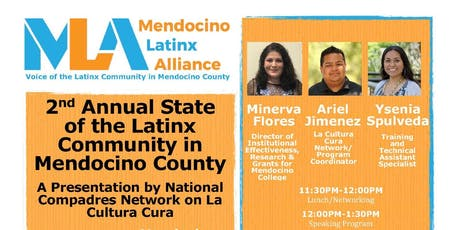 2nd Annual State of the Latinx Community in Mendocino County tickets