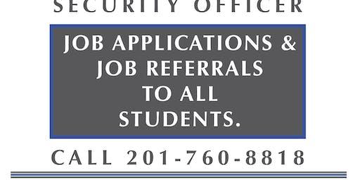 SORA CLASS W/Job Asst. September 14-15, 2019 (Saturday-Sunday)