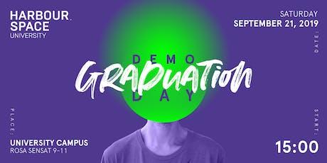 Harbour.Space University 2019 Graduation - Demo Day & Cocktail Party entradas