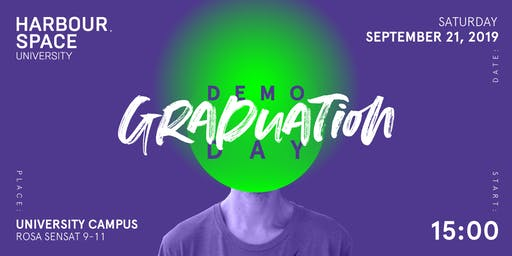 Harbour.Space University 2019 Graduation - Demo Day & Cocktail Party