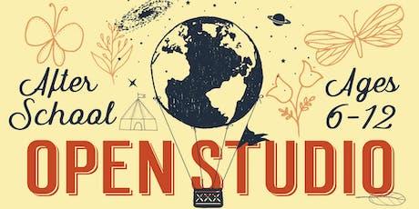 After School Open Studio, kids 6-12 tickets