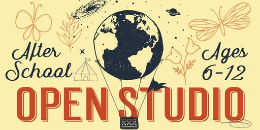 After School Open Studio, kids 6-12