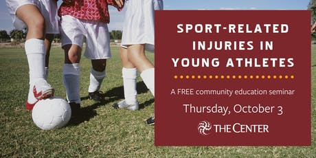 Sport-Related Injuries in Young Athletes tickets
