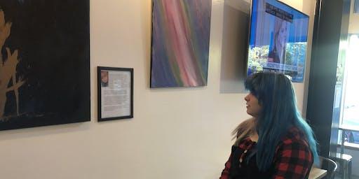 Eliana's First Art Show