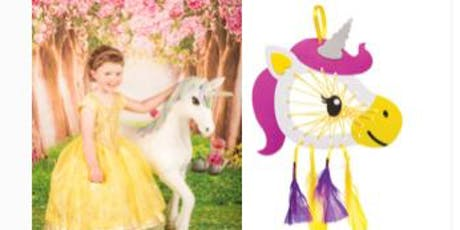 Make a unicorn dreamcatcher and get a mini photo shoot tickets
