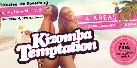 Kizomba Temptation 4 AREAS | Kasteel De Keverberg tickets