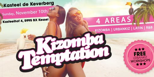 Kizomba Temptation 4 AREAS | Kasteel De Keverberg