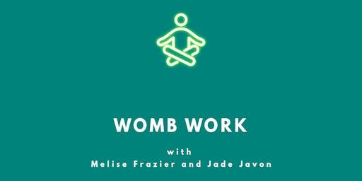 WOMB WORK: Vaginal Steaming-Meditation-Journaling
