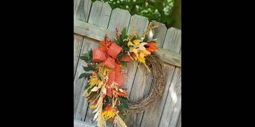 Fall wreath making party!