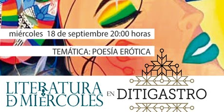 Encuentro Literatura de Miércoles: POESÍA ERÓTICA entradas