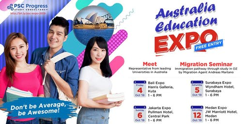 Australia Education & Migration Expo October 2019 (Surabaya)