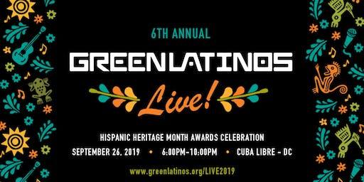 GreenLatinos Live! Hispanic Heritage Month Awards Celebration