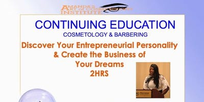 COSMETOLOGY & BARBER Online CE 5 HR License Renewal