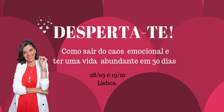 Workshop Desperta-te tickets