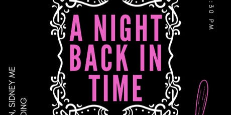 A Night Back in Time tickets