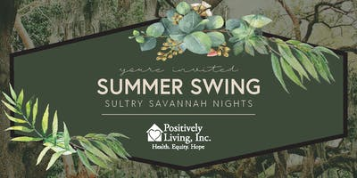 Summer Swing 2020 - Sultry Savannah Nights - Knoxville Botanical Gardens