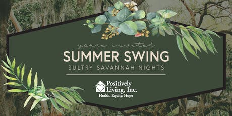 Summer Swing 2020 - Sultry Savannah Nights - Knoxville Botanical Gardens tickets