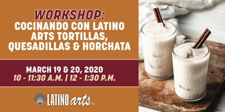 Workshop: Concinando con Latino Arts tickets