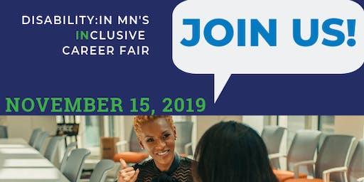 Disability:IN Minnesota INclusive Career Fair