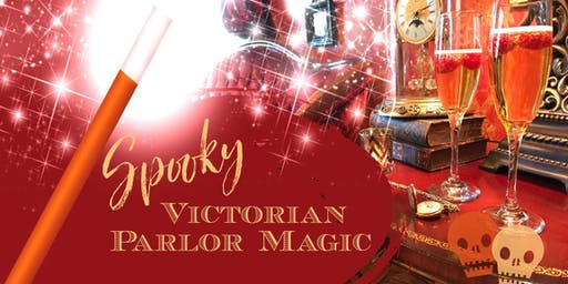 Spooky Victorian Parlor Magic and Graveyard Stroll