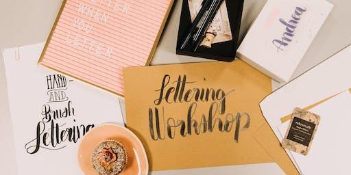 Handlettering und Brushlettering Workshop für Fortgeschrittene