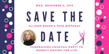 Moving For Life Fundraiser: Cocktail Party & Private Art Viewing tickets