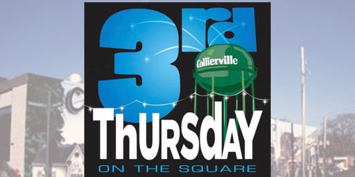 3rd Thursdays on the Collierville Town Square