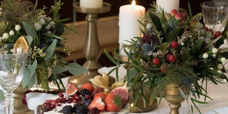 CHRISTMAS TABLE STYLING - 11TH DEC tickets