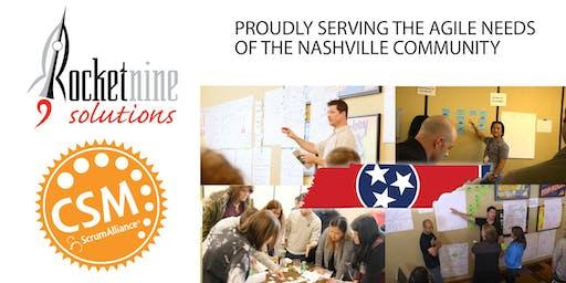Nashville Late Feb Certified Scrum Master Training (CSM)