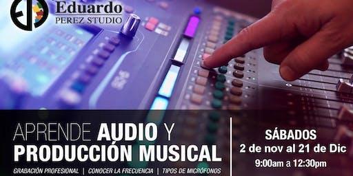 Aprende audio y producción musical