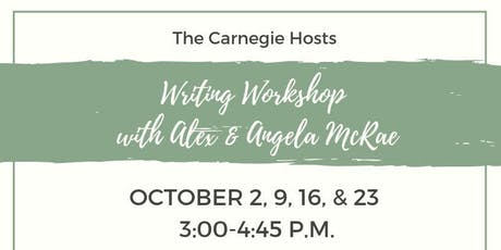 Writing Workshop with Alex & Angela McRae tickets