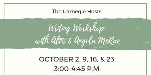 Writing Workshop with Alex & Angela McRae
