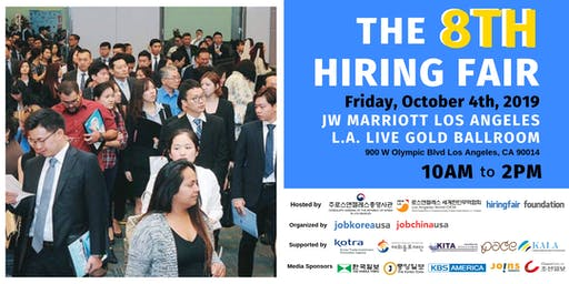 The 8th Hiring Fair - FREE Job Fair