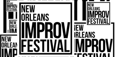 New Orleans Improv Festival - Whole Weekend Pass tickets