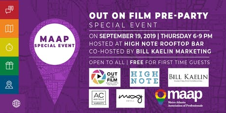 MAAP's Out on Film Pre-Party tickets
