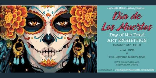 Día de Los Muertos Art Exhibit | Art.Vibes.Fun.