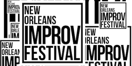 New Orleans Improv Festival All Day Pass tickets
