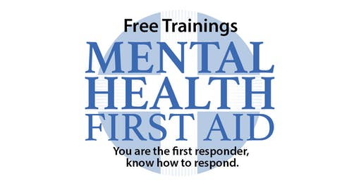 Mental Health First Aid - Adult Version, Sept 20