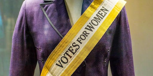 Atlanta History Center Suffragette Exhibit Tour