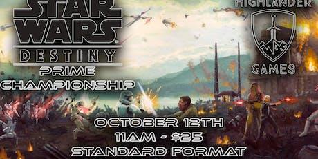 Star Wars Destiny Prime Event tickets