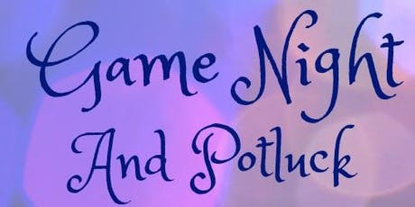 Couples Game Night & Pot Luck tickets