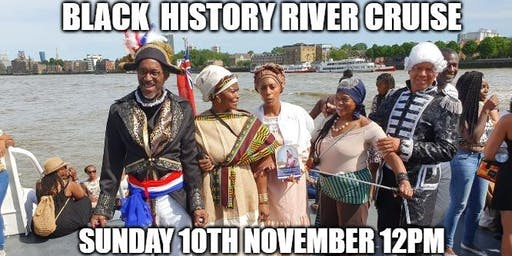 Black History River Cruise 10th November. (World War special)