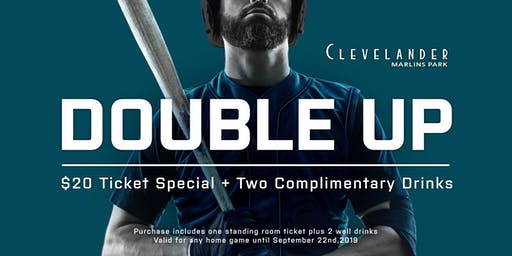 Clevelander Marlins Park: $20 Ticket Special + 2 Complimentary Drinks