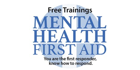Mental Health First Aid - Youth Version, October 25 tickets